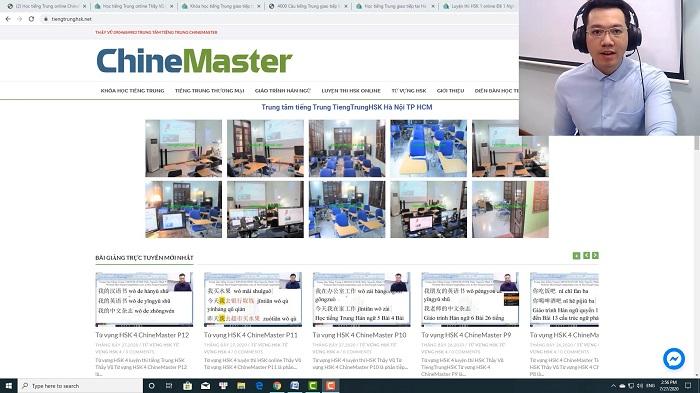 Bộ đề luyện thi HSK online mới website luyện thi hsk online thầy vũ chinemaster tiengtrunghsk