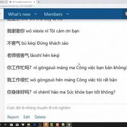 Bài tập luyện dịch tiếng Trung cấp tốc Phần 6