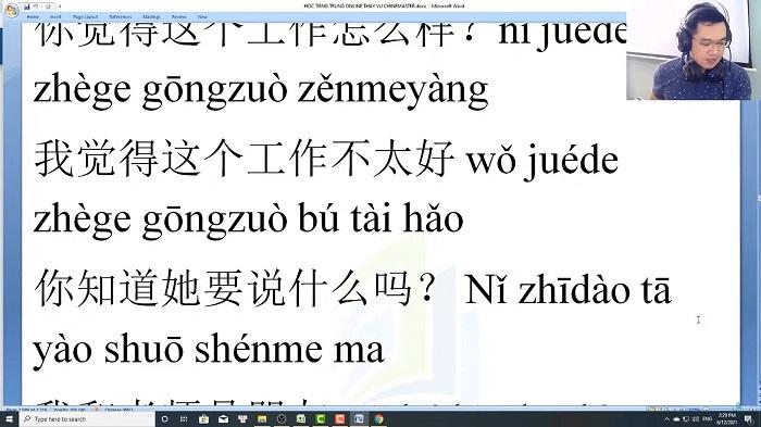 Luyện tập đọc hiểu tiếng Trung qua bài tập nâng cao vốn từ HSK 9 trung tâm tiếng trung Quận 10 TPHCM Tài liệu tự học tiếng Trung Quốc mỗi ngày
