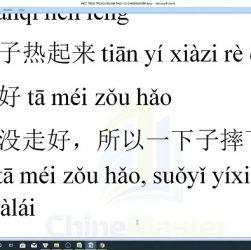 Bài tập từ vựng tiếng Trung HSK 7 online lộ trình Thầy Vũ trung tâm tiếng Trung Quận 10 TPHCM