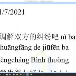 Từ vựng tiếng Trung HSK 7 ứng dụng thực tế giáo án ôn thi HSK cấp 7 trung tâm tiếng Trung thầy Vũ tphcm
