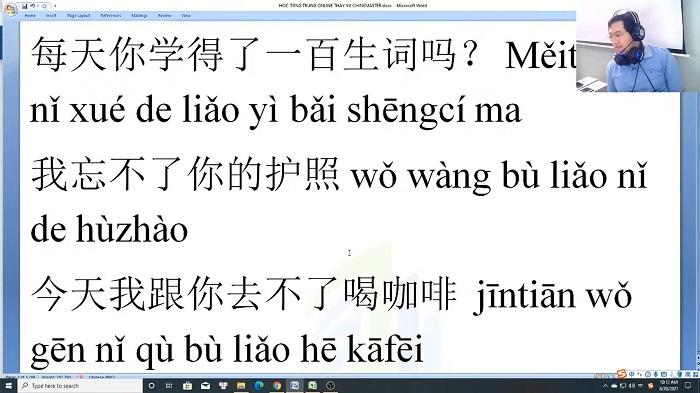 Giáo trình tiếng Trung thương mại Tập 3 bài tập ngữ pháp ứng dụng trung tâm tiếng Trung Quận 10 TPHCM