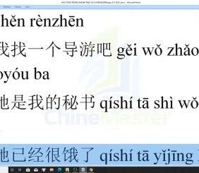 Giáo trình tiếng Trung thương mại bài 1 trung tâm tiếng Trung Quận 10 TPHCM